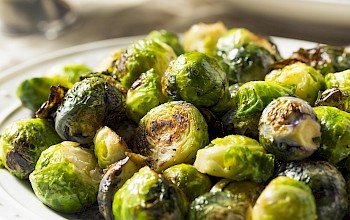 Roasted brussless sprouts - calories, nutrition, weight