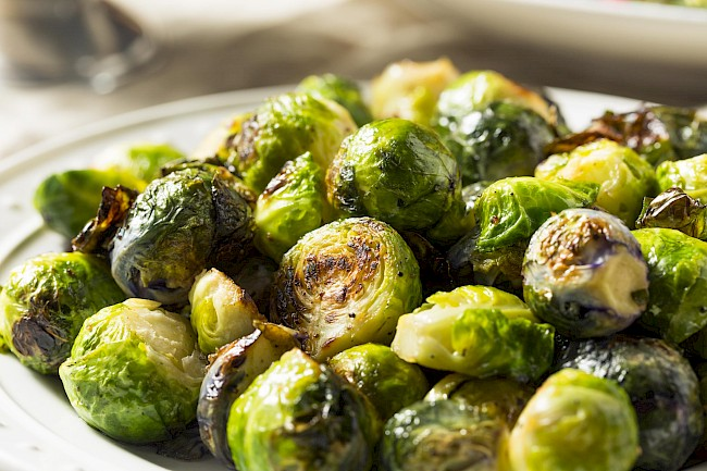 Roasted brussless sprouts - calories, kcal