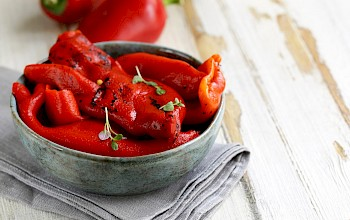 Roasted red peppers - calories, nutrition, weight