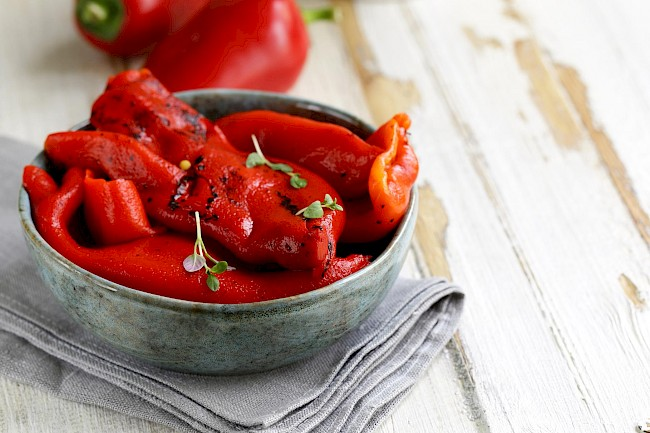 Roasted red peppers - calories, kcal