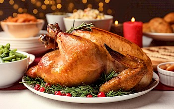 Roasted turkey - calories, nutrition, weight