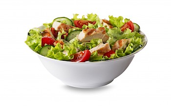 Grilled Chicken Salad McDonalds - calories, nutrition, weight