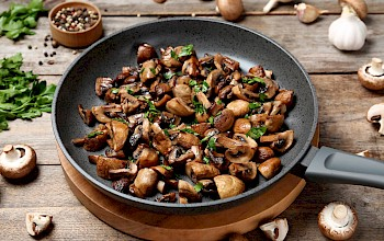 Fried mushrooms - calories, nutrition, weight