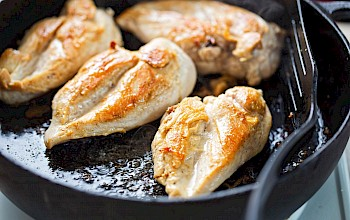 Fried chicken breast - calories, nutrition, weight