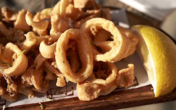 Fried calamari - calories, nutrition, weight