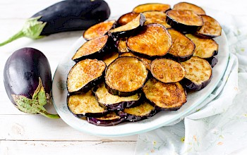 Fried eggplant - calories, nutrition, weight