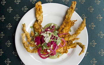 Fried soft shell crab - calories, nutrition, weight