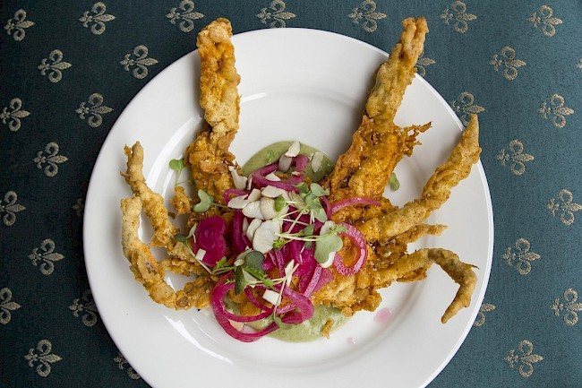 Fried soft shell crab - calories, kcal