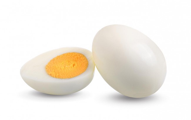 Cooked egg white - calories, kcal