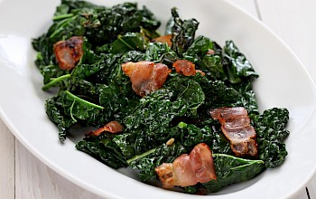 Cooked kale - calories, nutrition, weight