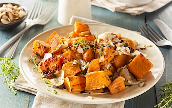 Cooked sweet potato - calories, nutrition, weight