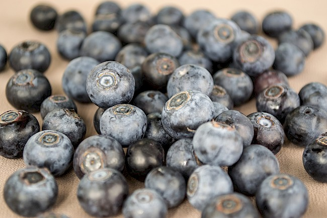 Blueberries - calories, kcal