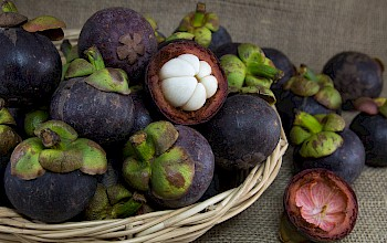 Mangosteen - calories, nutrition, weight