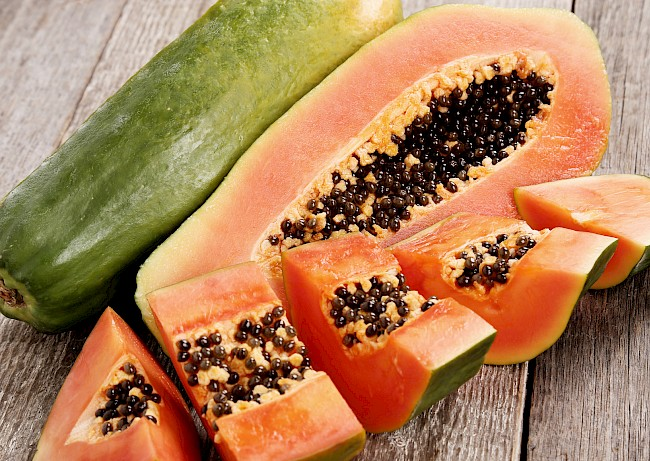 Papaya - nutrition, vitamins, minerals
