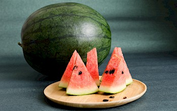 Watermelon - calories, nutrition, weight