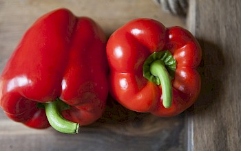 Red bell pepper - calories, nutrition, weight