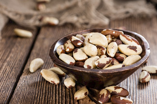Brazil nuts - calories, kcal, weight, nutrition