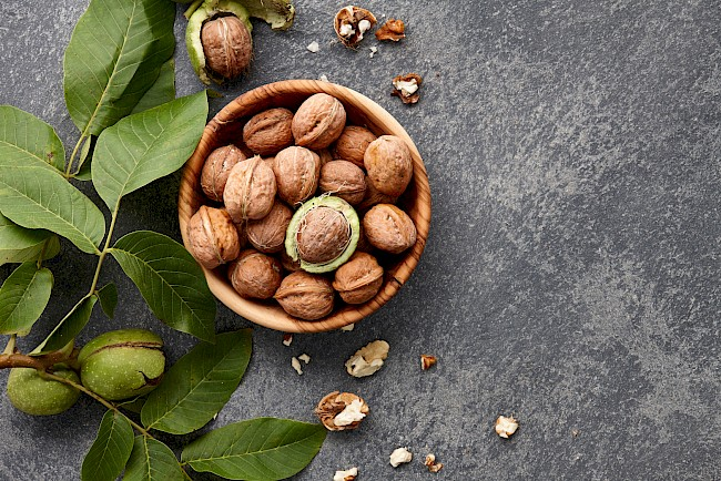 Walnuts - calories, kcal, weight, nutrition