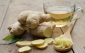 Ginger - calories, nutrition, weight