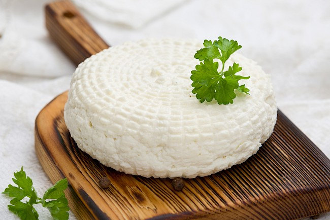 White cheese - calories, kcal