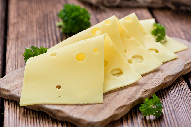 Swiss cheese - calories, kcal