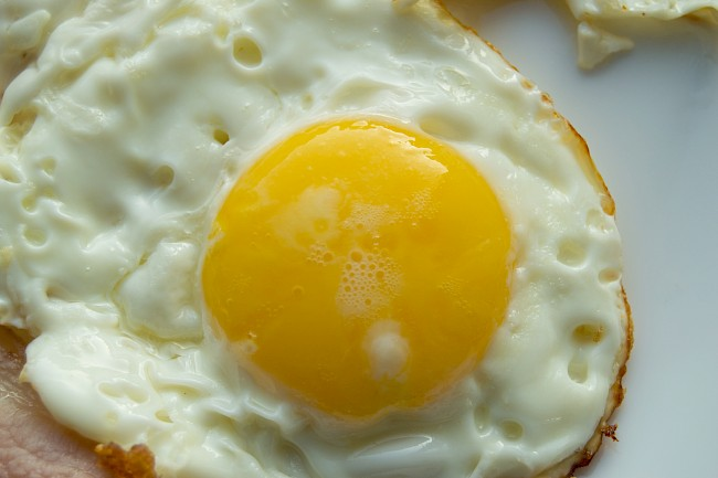 Fried egg - calories, kcal