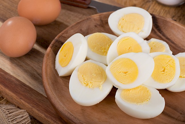 Boiled egg (hard or soft) - calories, kcal