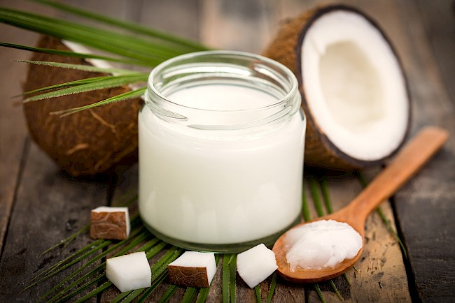 Coconut oil - calories, kcal, weight, nutrition