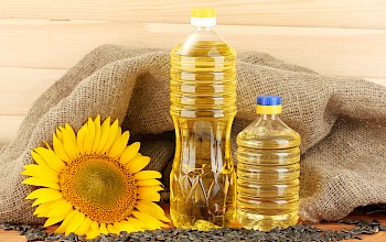 Oil (sunflower) - calories, nutrition, weight