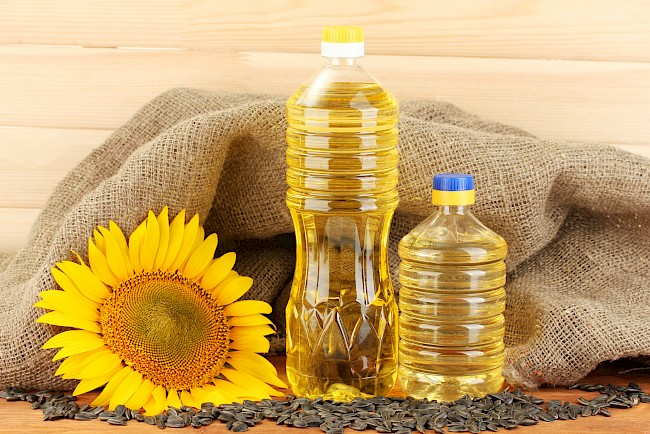 Oil (sunflower) - calories, kcal