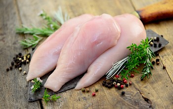 Chicken breast - calories, nutrition, weight