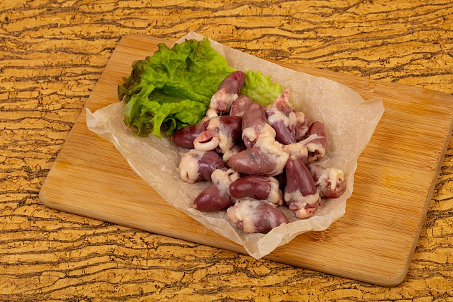 Poultry offal - calories, kcal
