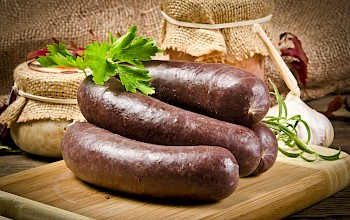 Blood sausage - calories, nutrition, weight