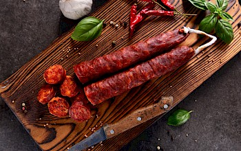 Chorizo - calories, nutrition, weight