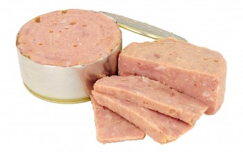 Luncheon meat - calories, nutrition, weight