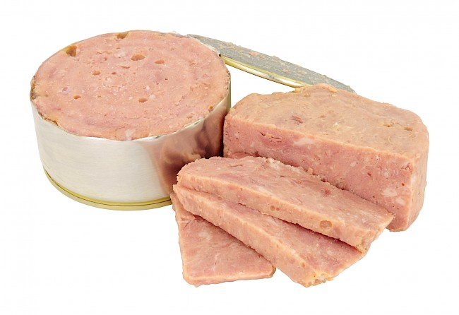 Luncheon meat - calories, kcal
