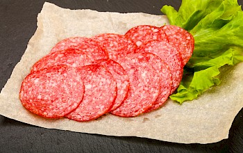 Salami - calories, nutrition, weight