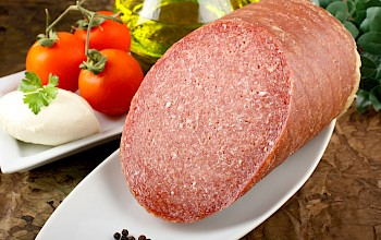 Turkey salami - calories, nutrition, weight
