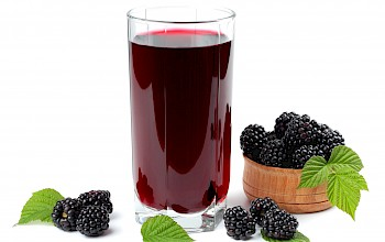 Blackberry juice - calories, nutrition, weight