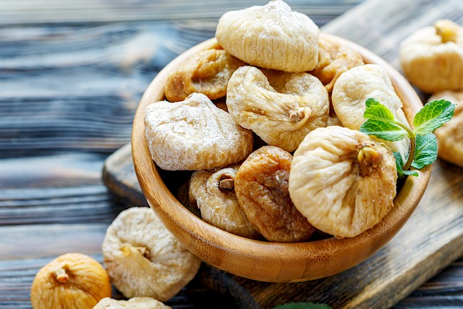 Dried fig - calories, kcal