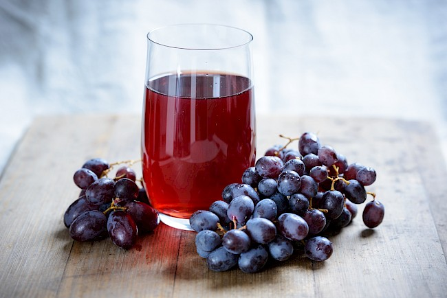 Grape juice - calories, kcal