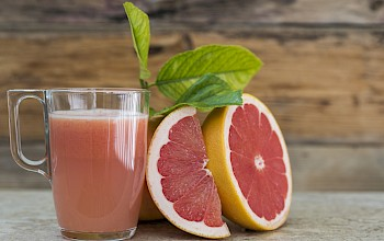 Grapefruit juice - calories, nutrition, weight