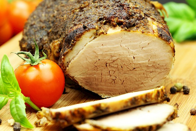 Smoked ham - calories, kcal, weight, nutrition