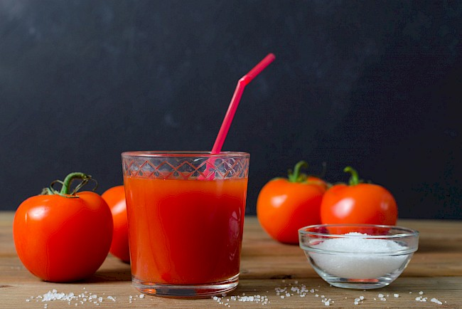 Tomato juice - calories, kcal, weight, nutrition