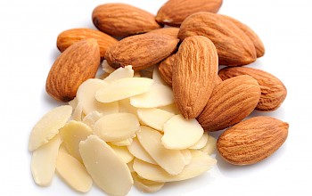 Almond flakes - calories, nutrition, weight