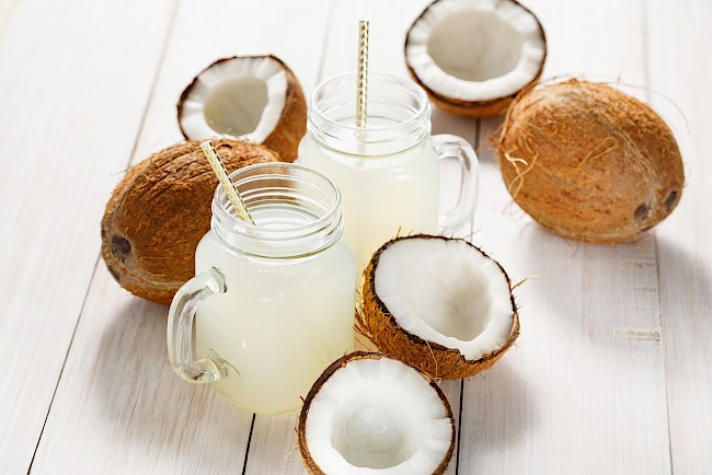 Coconut water - calories, kcal