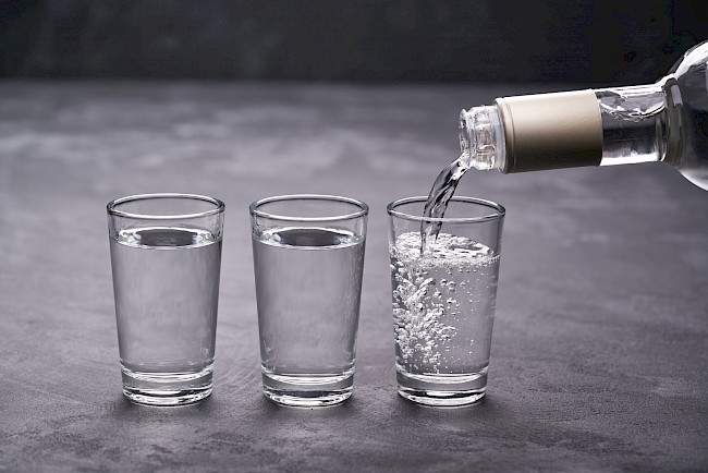 Vodka - calories, kcal, weight, nutrition