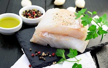 Cod - calories, nutrition, weight