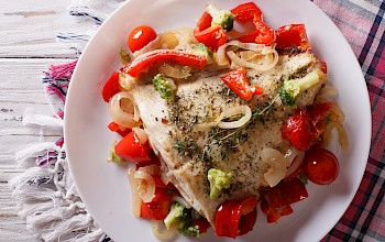 Flounder (fillet, meat) - calories, nutrition, weight