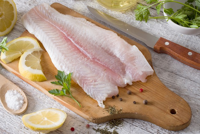 Halibut (fillet, meat) - calories, kcal, weight, nutrition
